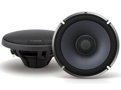 Alpine X-Series 6.5 Inch Coaxial 2-Way Speakers - X-S65