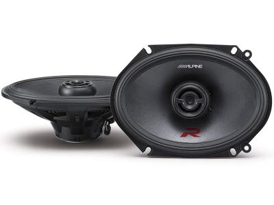 "Alpine R-Series 6""x8"" Coaxial 2-Way Speakers - R-S68"