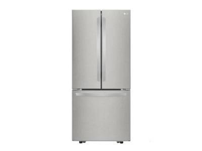 """30"""" LG 21.8 cu.ft. Capacity 3-Door French Door Refrigerator - LRFNS2200S"""