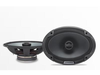Alpine Coaxial 2-Way Speaker Set - SPE-6090
