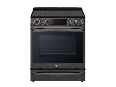 """30"""" LG 6.3 cu ft. Capacity Smart Wi-Fi Enabled ProBake Convection Electric Slide-in Range - LSEL6337D"""