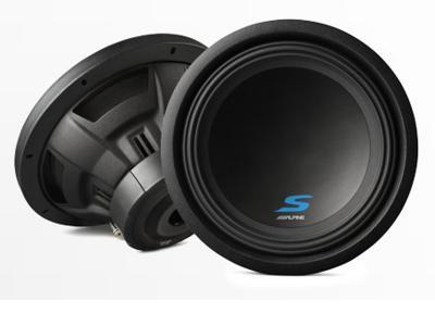 Alpine 12 Dual Voice Coil (2 Ohm) High Performance Subwoofers - S-W12D2