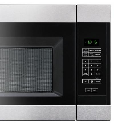 "30"" Amana 1.6 Cu. Ft. Over-the-Range Microwave - YAMV2307PFS"