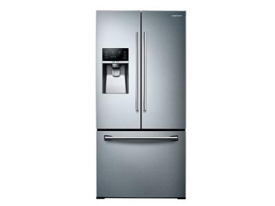 """33"""" Samsung  rench Door Refrigerator with Twin Cooling Plus, 25.5 cu.ft - RF26J7500SR"""