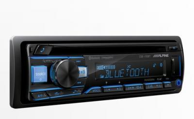 Alpine Advanced Bluetooth® CD Receiver - CDE-172BT