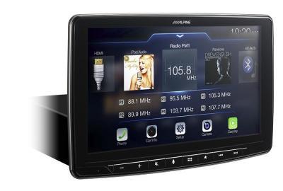 Alpine Halo9 9-Inch Mech-less Audio/Video Receiver - iLX-F309