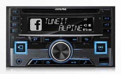 Alpine CD Receiver with Advanced Bluetooth® Wireless Technology - CDE-W265BT