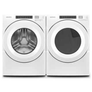 """27"""" Amana 7.4 Cu. Ft. Front Load Electric Dryer With Moisture Sensors - YNED5800HW"""