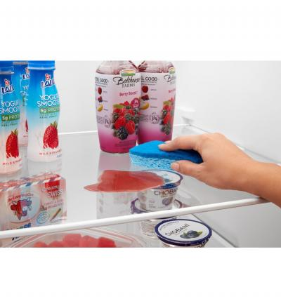 """33"""" Amana Side-by-Side Refrigerator with Dual Pad External Ice and Water Dispenser - ASI2175GRS"""