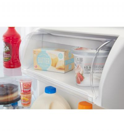 """33"""" Amana Side-by-Side Refrigerator with Dual Pad External Ice and Water Dispenser - ASI2175GRW"""