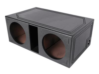 Atrend 10 Inch Coated Sprayliner Dual SPL Vented Enclosure - SPL-10DV