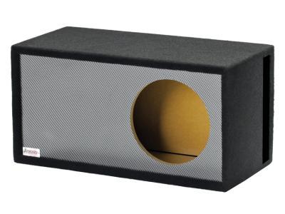 Atrend 15 Inch Black Carbon Fiber Single Vented Enclosure - 15LSVB