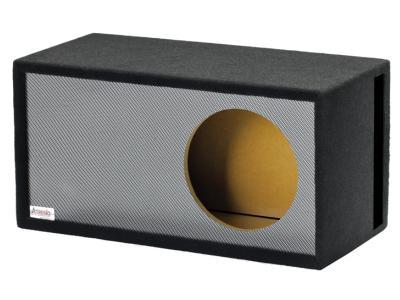 Atrend 12 Inch Black Carbon Fiber Single Vented Enclosure - 12LSVB