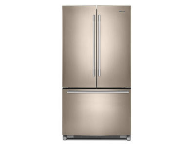 "36"" Whirlpool French Door Refrigerator with Crisper Drawer - 25 cu. ft. - WRFA35SWHN"