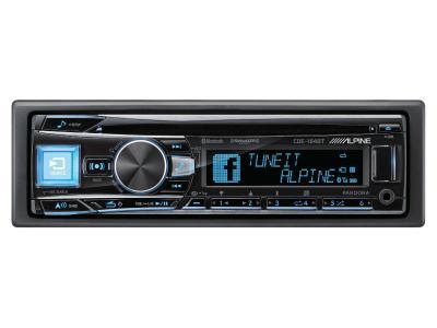 Alpine Single-DIN CD Receiver - CDE-164BT