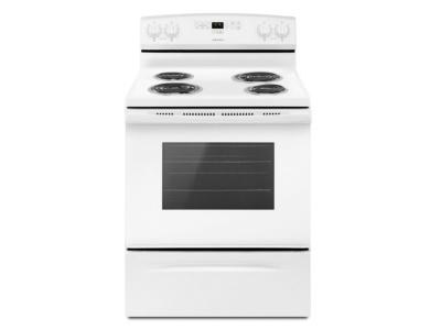 """30"""" Amana Electric Range with Bake Assist Temps - YACR4303MFW"""