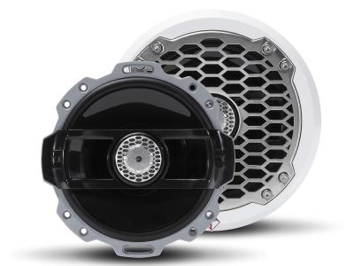 Rockford Fosgate Punch Marine 6 Inch 2-way Full Range Speakers With White Sport Grille - PM262