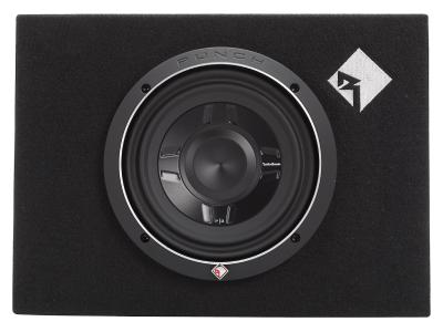 Rockford Fosgate Punch Single P3 8 Inch Shallow Loaded Subwoofer Enclosure - P3S-1X8