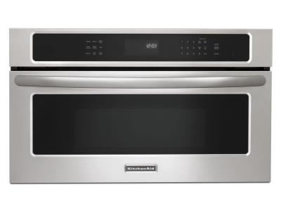 """30"""" KitchenAid 1.4 Cu. Ft. Built In Microwave With EasyConvect Time - KBHS109BSS"""