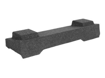 """Atrend Dual 10"""" Sealed Carpeted Subwoofer Enclosure - A16410CP"""
