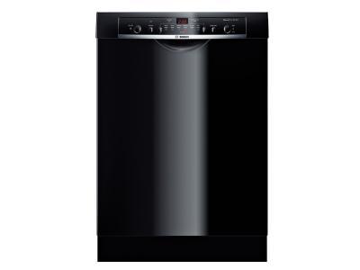 "24"" Bosch Recessed Handle Ascenta Dishwasher In Black - SHE3AR76UC"