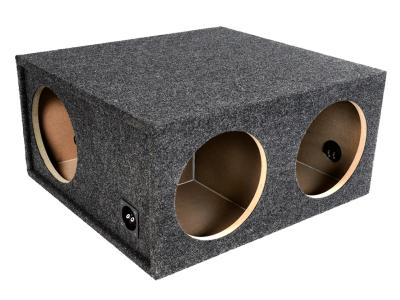 Atrend 12 Inch Four Hole With 2 Front And 2 Side Sealed Subwoofer Enclosure - E12FS