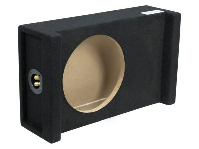 Atrend 12 Inch Single Shallow Sealed Downfire Subwoofer Enclosure - 12AME