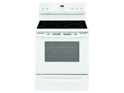 """30"""" Frigidaire 5.3 Cu. Ft. Free Standing Electric Range With 5 Burners - FCRE305CAW"""