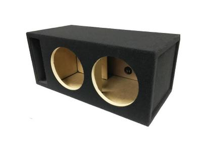 Atrend 12 Inch  Dual Vented VFL Competition Subwoofer Enclosure - 12VFLAB