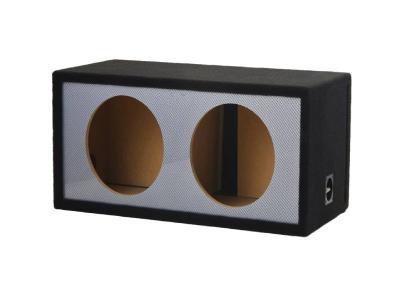 Atrend Alpine-12 Inch Dual Slot Carbon Fiber Vented Enclosure -12DVNC
