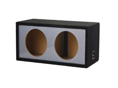 Atrend Alpine 10 Inch Dual Slot Carbon Fiber Vented Enclosure - 10DVNC