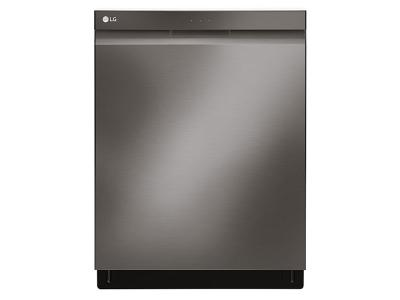 """24"""" LG Top Control Dishwasher with QuadWash and Height Adjustable 3rd Rack -LDP6797BD"""