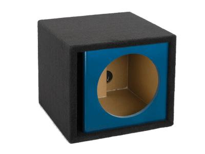 Atrend 12 Inch Single Vented Kandy Enclosure in Blue - ZV12S-Blue