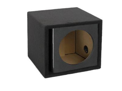 Atrend 12 Inch Single Vented Kandy Enclosure in Black - ZV12S-Black