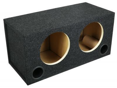 Atrend 10 Inch Dual Ported P3D4-10/P2D4-10 Subwoofer Enclosure - 10RPD
