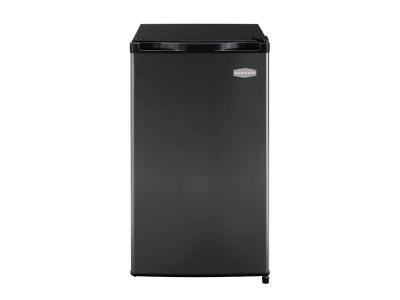 "19"" Marathon Deluxe 4.5 Cu.ft. Capacity Refrigerator in Black steel - MAR45BLS"