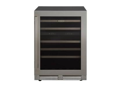 """24"""" Marathon Built-in Dual Zone Wine Cooler in Stainless Steel  - MWC56-DSS"""
