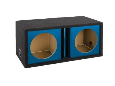 Atrend 12 Inch Dual Vented Kandy Enclosure in Blue - ZV12D-Blue