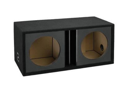 Atrend 12 Inch Dual Vented Kandy Enclosure in Black - ZV12D-Black