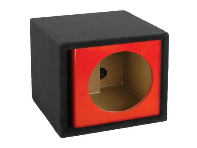 Atrend 12 Inch Single Vented Kandy Enclosure in Red - ZV12S-Red