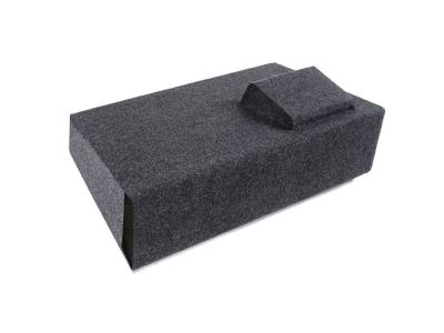 Atrend Single 12 Inch Vented Carpeted Subwoofer Enclosure - A181-12CPV
