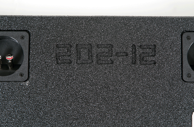 Atrend Dual 12 Inch Sealed Spraylinered Subwoofer Enclosure - A202-12