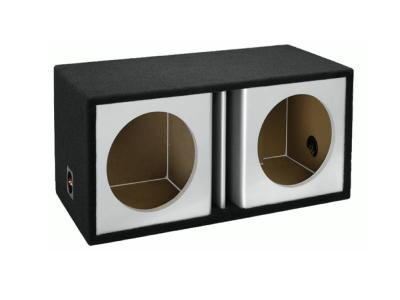 Atrend 15 Inch Dual Vented Kandy Enclosure in Silver  - ZV15D-Silver