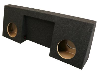 Atrend Dual 10 Inch Sealed Carpeted Subwoofer Enclosure - A208-10CPA