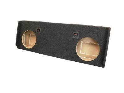 Atrend Dual 12 Inch Sealed Carpeted Subwoofer Enclosure - A182-12CPA