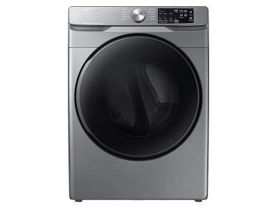 "27"" Samsung 7.5 Cu. Ft. Electric Dryer With Steam Sanitize In Platinum - DVE45T6100P"