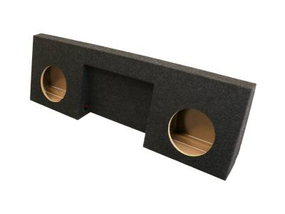 Atrend Dual 10 Inch Sealed Carpeted Subwoofer Enclosure - A168-10CPA