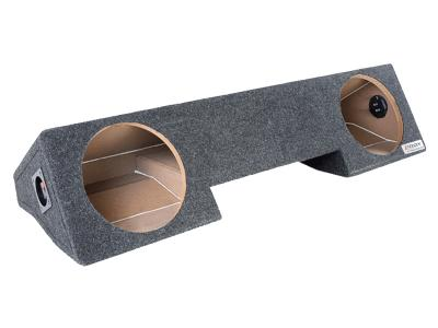 Atrend Dual 10 Inch Sealed Carpeted Subwoofer Enclosure - A232-10CP