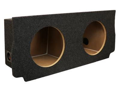 Atrend Dual 12 Inch Sealed Carpeted Subwoofer Enclosure - A216-12CP