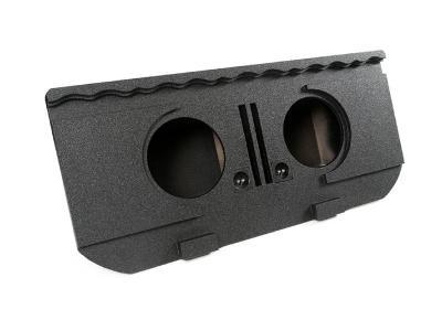 Atrend Dual 12 Inch Vented Spraylinered Subwoofer Enclosure - A193-12V